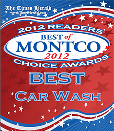 West Norriton Auto Wash voted Best of Montco 2012